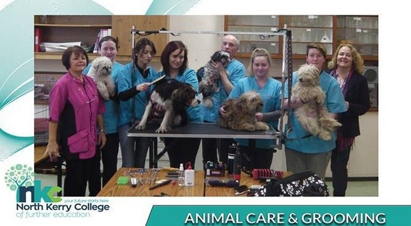 A Round of Appaws for the ANIMAL CARE & GROOMING Students