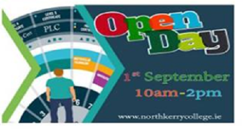 OPEN DAY FRIDAY 1st SEPTEMBER 10AM - 2PM