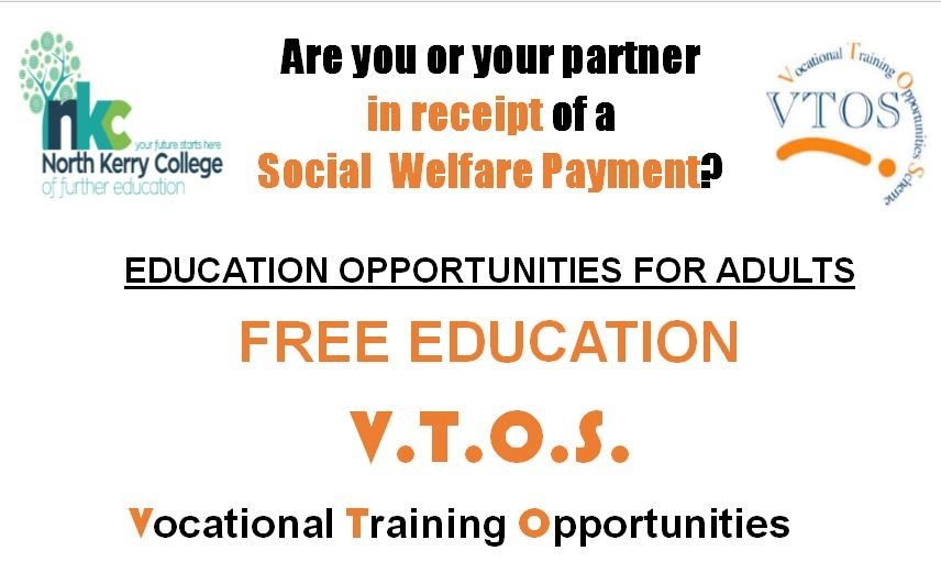 JOIN VTOS - FREE ADULT EDUCATION
