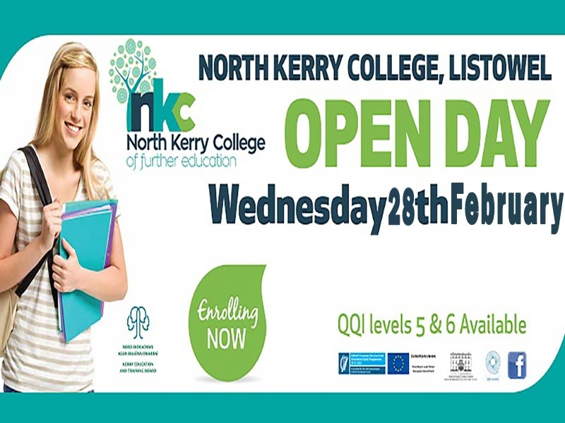 NORTH KERRY COLLEGE OPEN DAY  28TH FEBRUARY 2017