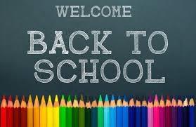 School Re opens - Jan 9th 2018