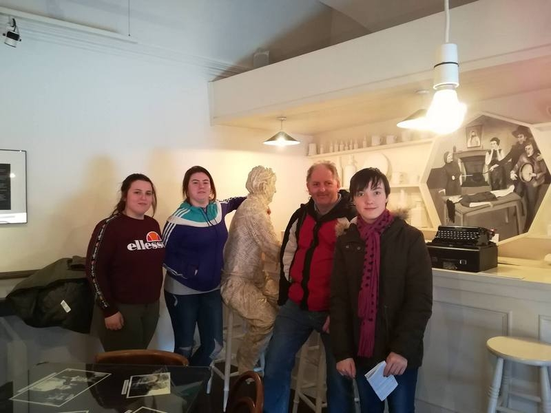 Pre-University Students trip to Kerry Writers Museum