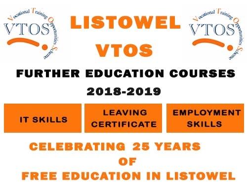 LISTOWEL VTOS FREE ADULT EDUCATION