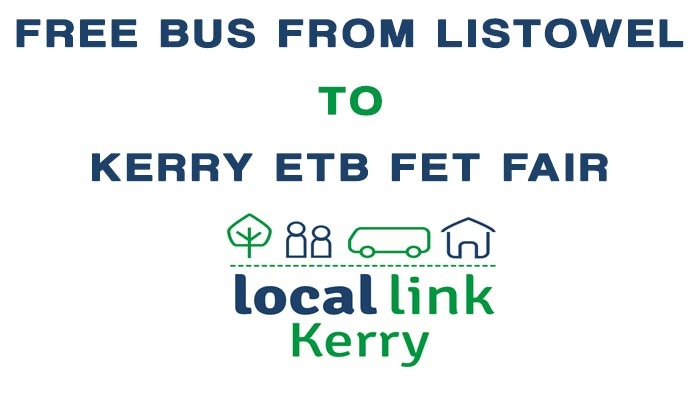 FREE BUS FROM LISTOWEL TO KERRY ETB FET FAIR