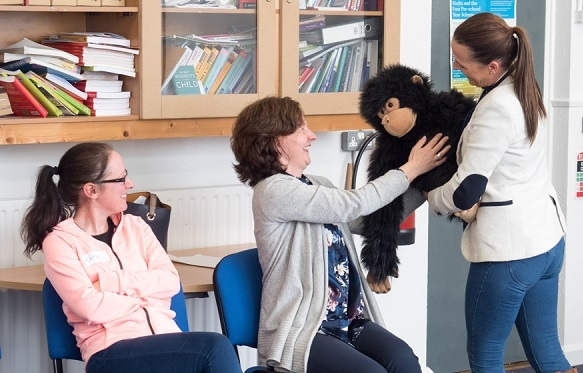 Therapeutic play workshop with Edel Lawlor, Expressive Play