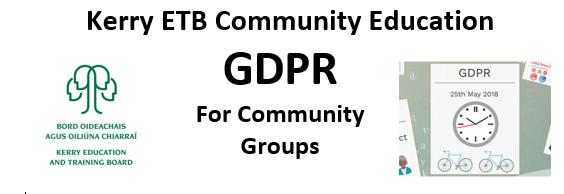 FREE Community Education - GDPR