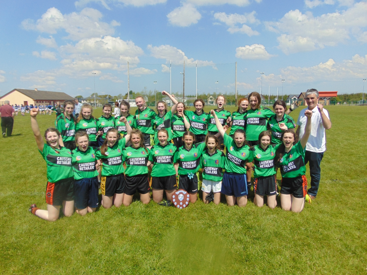 Munster Junior Girls football Champions