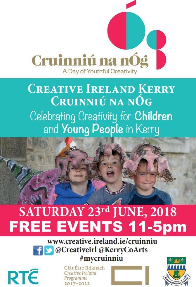 Cruinniu na nÓg - Free day of  youthful creativity