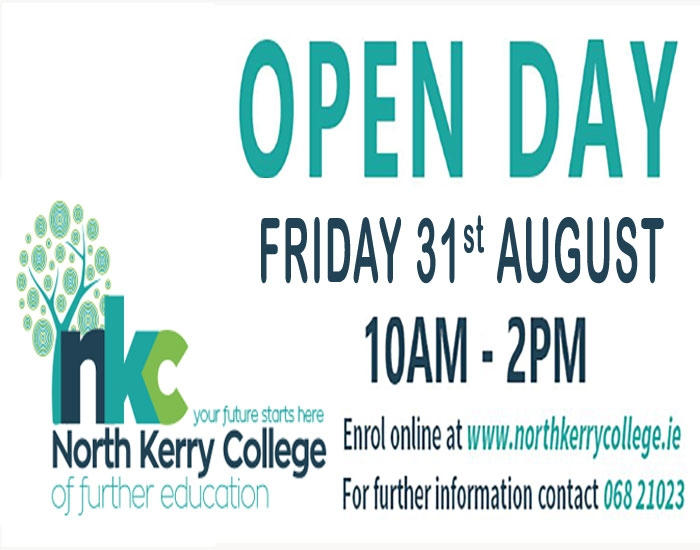 VTOS & PLC Open Day Friday 31st August 10 am - 2 pm