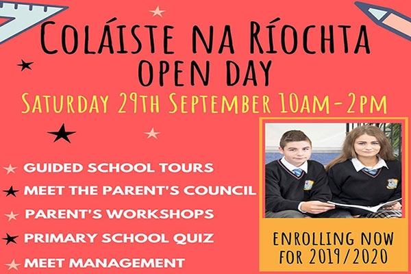 Come along to our open day on Saturday 29th September at 10am-2pm! With lots of events for parents & students.