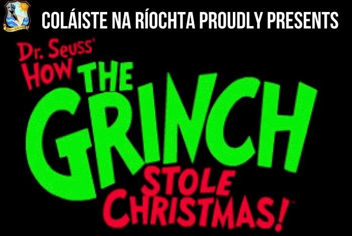 Christmas School Play - The Grinch