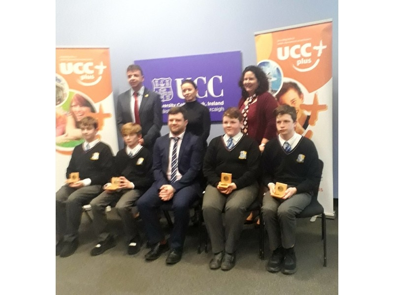 UCC PLUS+ awards at University College Cork