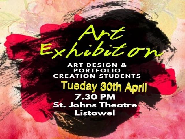 Art, Design & Portfolio Preparation Exhibition