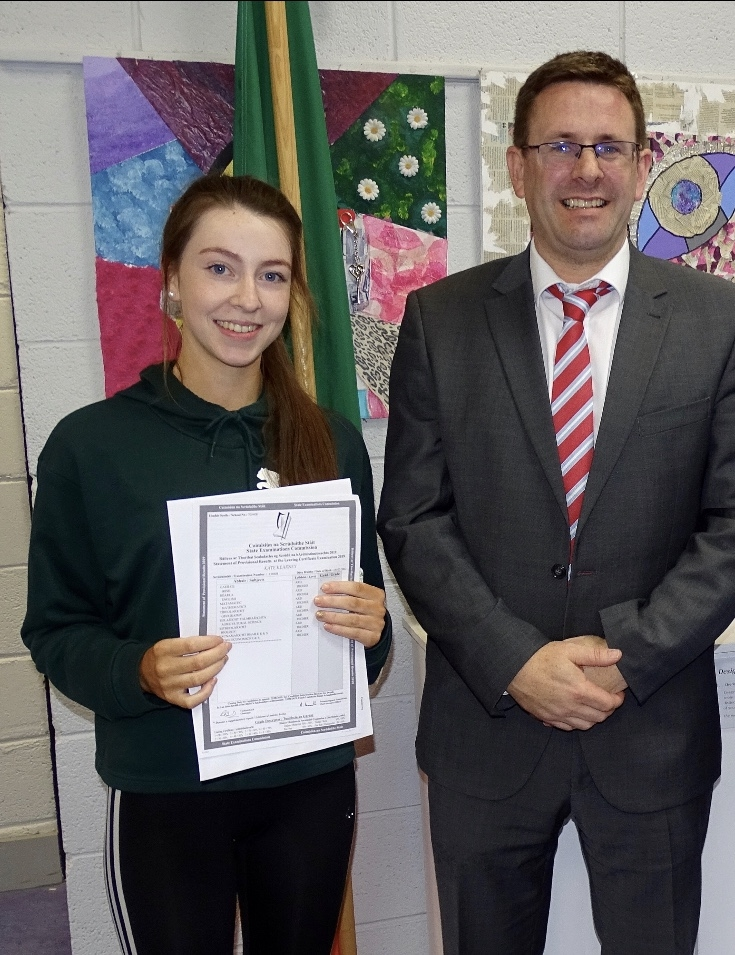 Fantastic Leaving Cert Results for Causeway CS