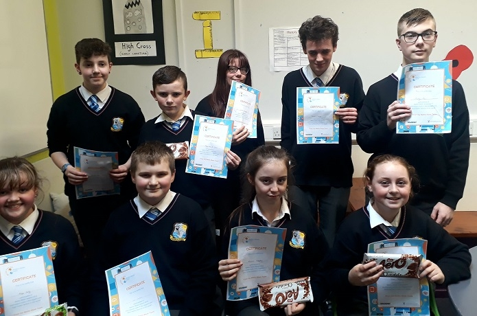 Congratulations to this years Maths Week Winners