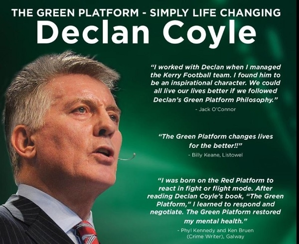 Declan Coyle Green Platform Thursday 14th November in Listowel Community Centre