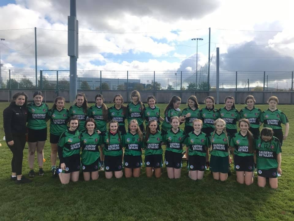 U16.5 Camogie team reach Munster semi final