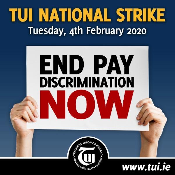 School closed 4th February due to TUI strike