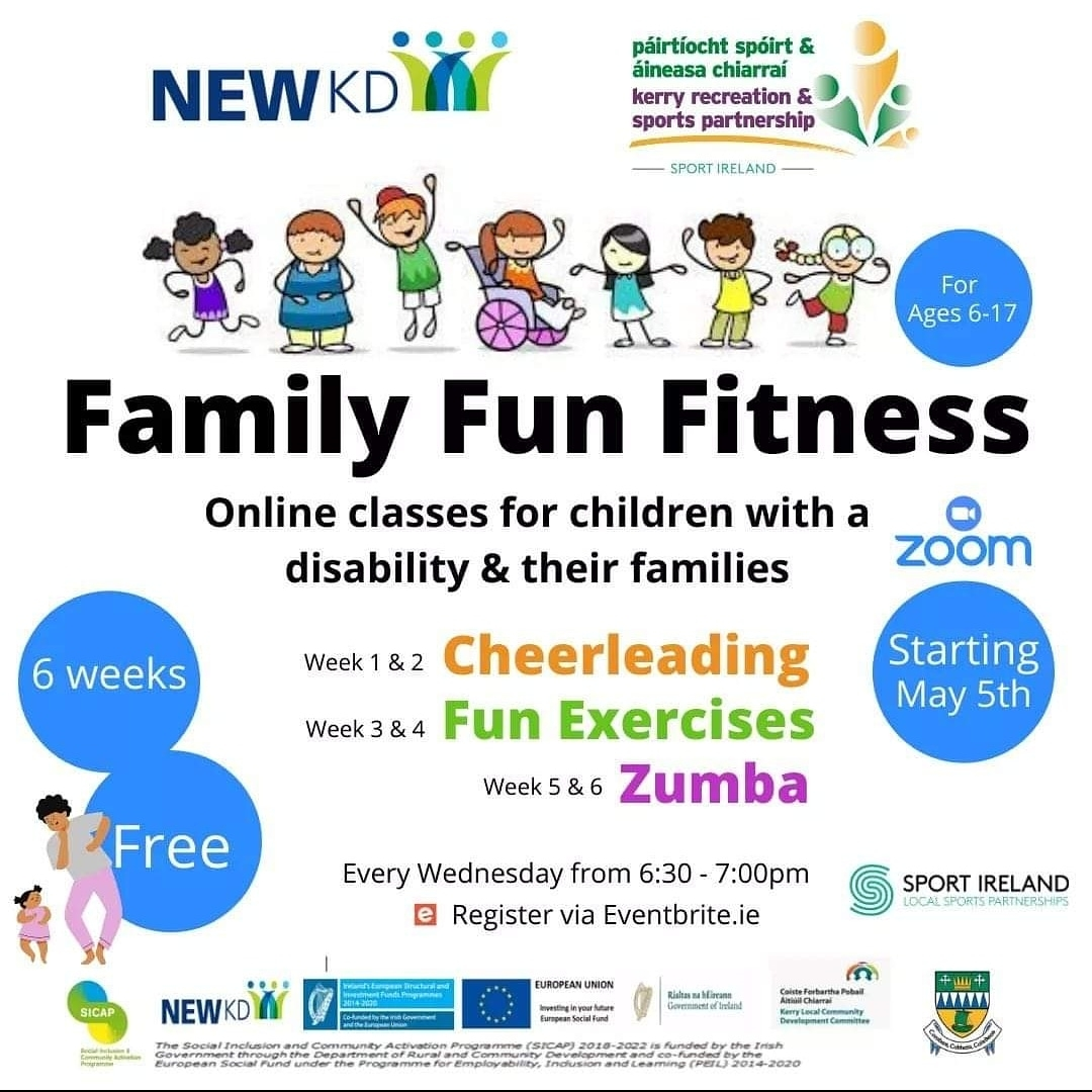 Family fun fitness with NEWKD